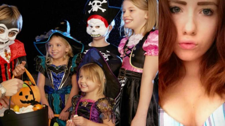 """Låt inte era barn gå """"Bus eller Godis"""" på Halloween – Det är"""